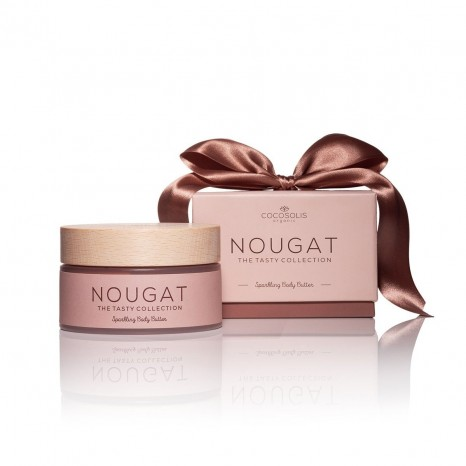 Cocosolis Organic NOUGAT Sparkling Body & Face Butter (250ml)