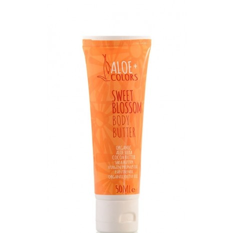 Aloe+ Colors - Body Butter Sweet Blossom - Vanilla-Πορτοκάλι (50ml)