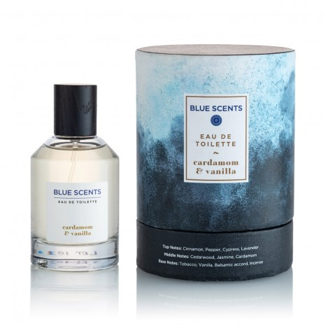 Blue Scents Eau De Toilette Cardamom & Vanilla (100ml)