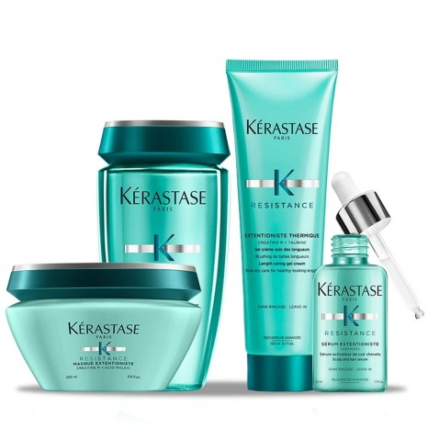 Kérastase Extentioniste Bundle - Μέθοδος Περιποίησης για Καταπονημένα Μαλλιά που δεν Μακραίνουν