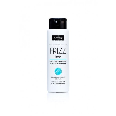 Lorvenn - Frizz Free Curl Style & Elasticity Conditioning Cream (300ml)