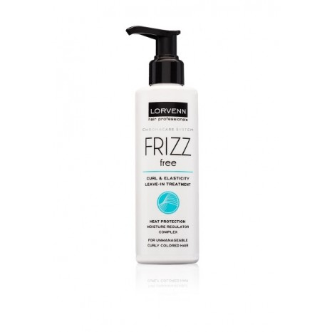 Lorvenn - Frizz Free Curl & Elasticity Leave-in Treatment (200ml)