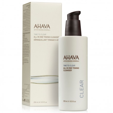 Ahava All-In-One Toning Cleanser (250ml)