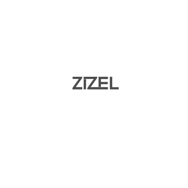 Petit Boutik - Γκρι Τετράγωνα Βελούδινο Scrunchie