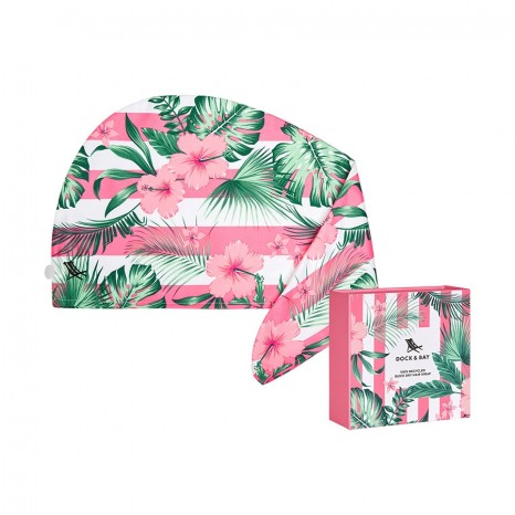 Dock & Bay Hair Wrap Heavenly Hibiscus