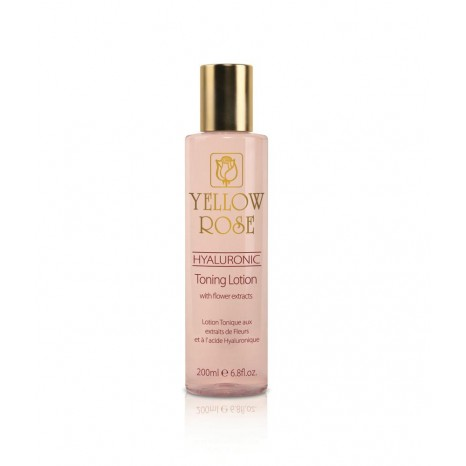 Yellow Rose Lotion Hyaluronic Toning Lotion With Flower Extracts (200ml)