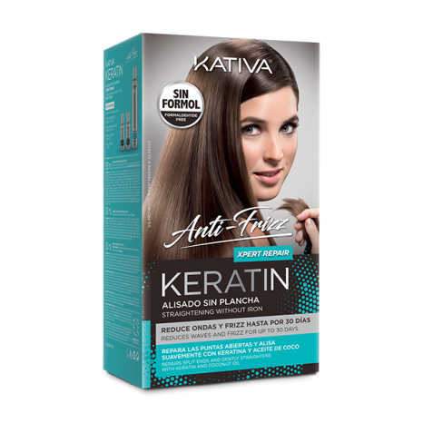 Keratin Alisado Anti Frizz Xpert Repair Kit (Shampoo 30ml & Conditioner 30ml & Mask 150ml)