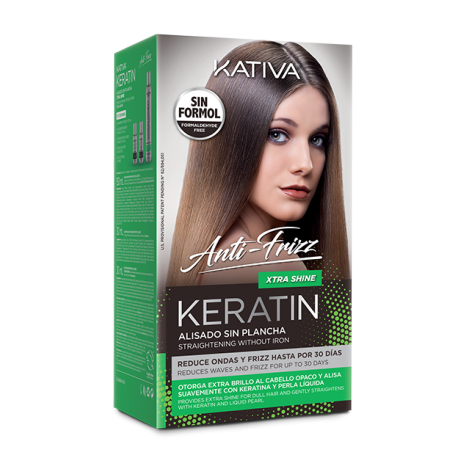 Keratin Alisado Anti Frizz Xtra Shine Kit (Shampoo 30ml & Conditioner 30ml & Mask 150ml)