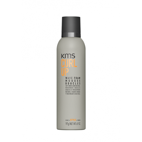 KMS Curlup Wave Foam (200ml)