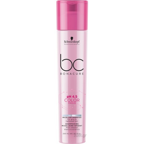 Schwarzkopf Professional BC Bonacure pH 4.5 Color Freeze Silver Micellar Shampoo (250ml)