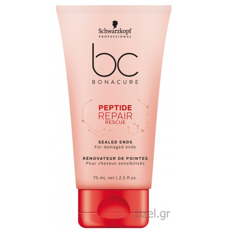 Schwarzkopf Professional BC Bonacure Peptide Repair Rescue Sealed Ends (75ml)