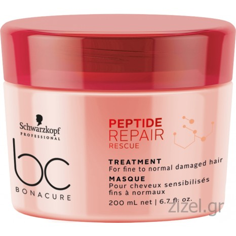 Schwarzkopf Professional BC Bonacure Peptide Repair Rescue Treatment (200ml)