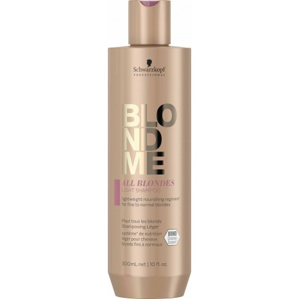 Schwarzkopf Professional BLONDME All Blondes Light Shampoo (300ml)