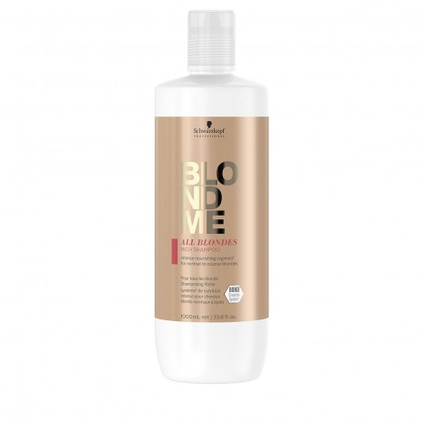 Schwarzkopf Professional BLONDME All Blondes Rich Shampoo (1000ml)