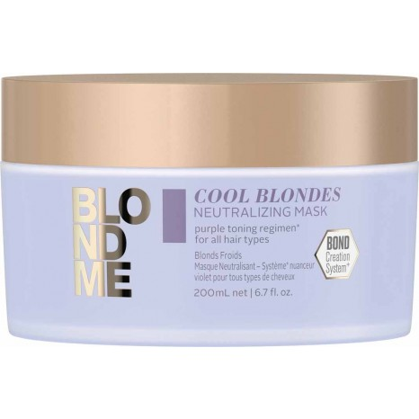 Schwarzkopf Professional BLONDME Cool Blondes Neutralizing Mask (200ml)