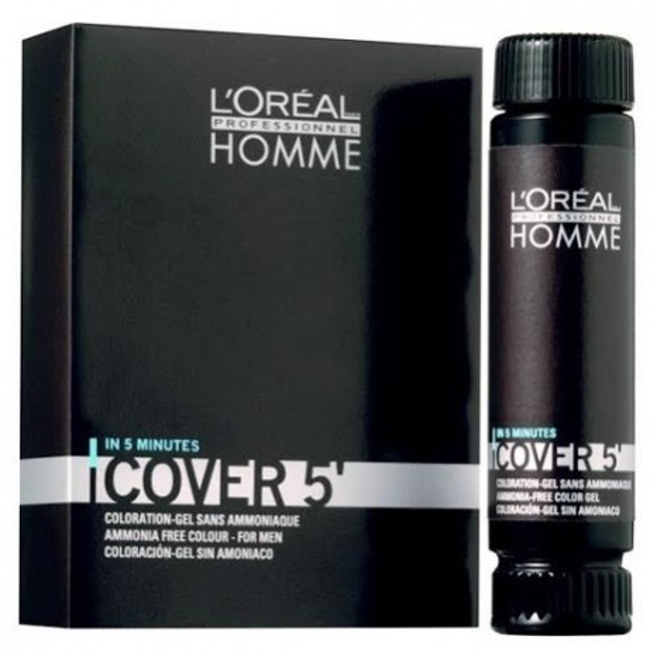 L'Oréal Professionnel Cover 5 - Νο5 Καστανό Aνοιχτό (3 x 50ml)