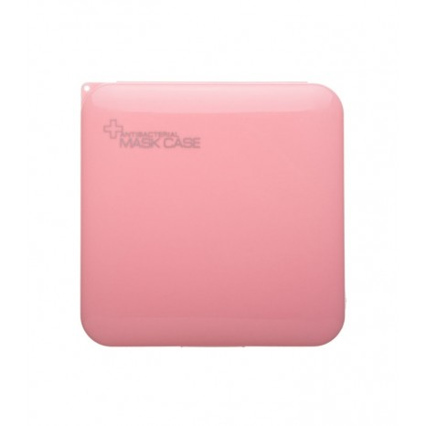 Petit Boutik - Ροζ Αντιβακτηριδιακή Θήκη για Μάσκα Προστασίας Προσώπου