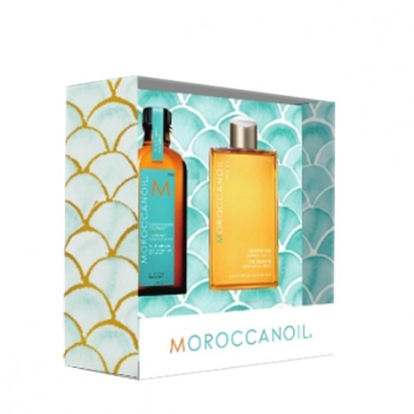 Moroccanoil Everyday Escape (Light Oil Treatment 100ml & Shower Gel 250ml)