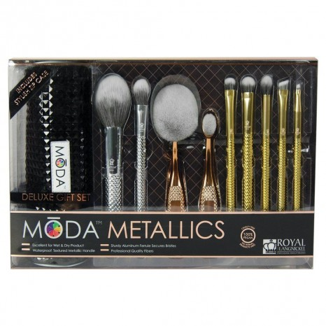 Royal & Langnickel - Moda Metallics Deluxe Brush Set (10τμχ)