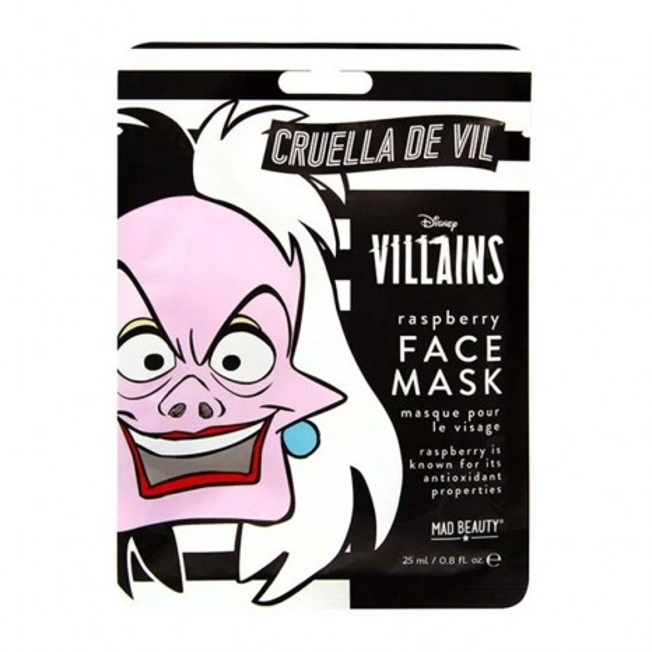 Mad Beauty Disney Villains Face Mask Cruella De Vil (25ml)