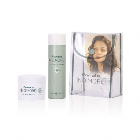 Fanola No More Kit Travel Size (The Prep Cleanser 100ml & The Styling Mask 50ml)