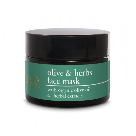 Yellow Rose Olive&Herbs Face Mask (50ml)