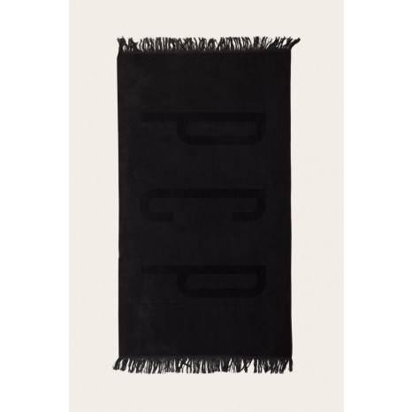 PCP Πετσέτα Θαλάσσης Μαύρη (180x100)