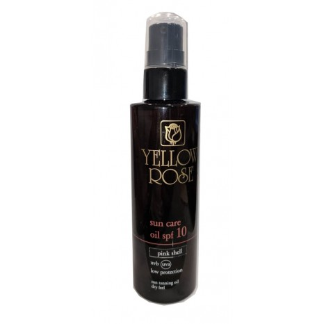 Yellow Rose Sun Care Oil SPF10 - Pink Shell (100ml)