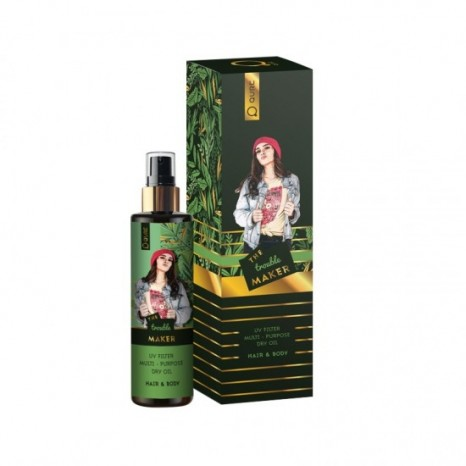 Qure Dry Oils - The Trouble Maker (100ml)
