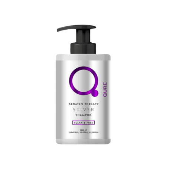 Qure Keratin - Silver Shampoo (300ml)