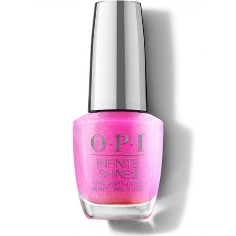OPI Infinite Shine - Rainbows in Your Fuchsia (15ml)