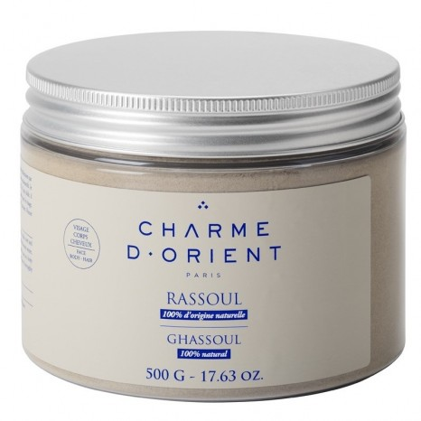 Charme d' Orient Non Perfumed Ghassoul Powder (500gr)