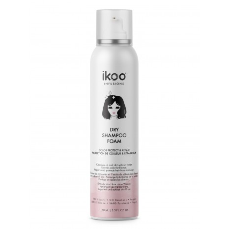 ikoo Dry Shampoo Foam - Color Protect & Repair (150ml)
