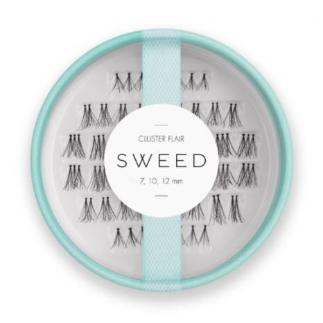 Sweed Lashes - Cluster Flair Black