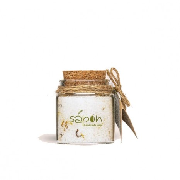 Sapon Skincare - Soothing Άλατα Μπάνιου Epsom με Άρωμα Ροδι (50ml)