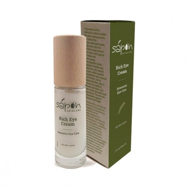 Sapon Skincare - Rich Cream Κρέμα Ματιών κατα των Ρυτιδων (30ml)
