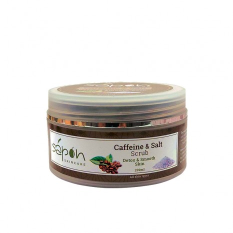 Sapon Skincare - Caffeine & Salt Body Scrub (200ml)
