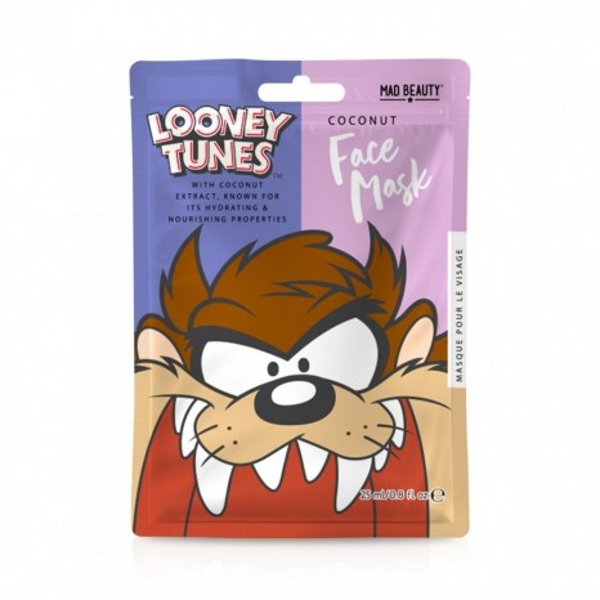 Mad Beauty Looney Tunes Taz Face Mask (25ml)