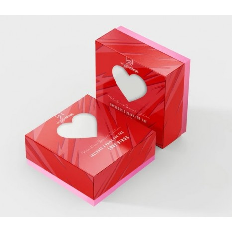 Wigglesteps - Valentine's Day Couple Box - Be My Queen & Be My King