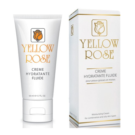 Yellow Rose Creme Hydratante Fluide (50ml)