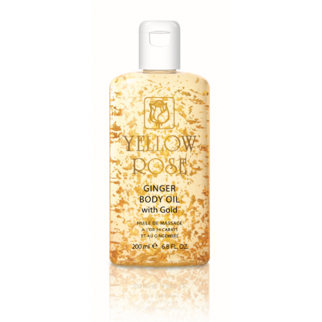 Yellow Rose Ginger Body Oil With 23k Gold (100ml)