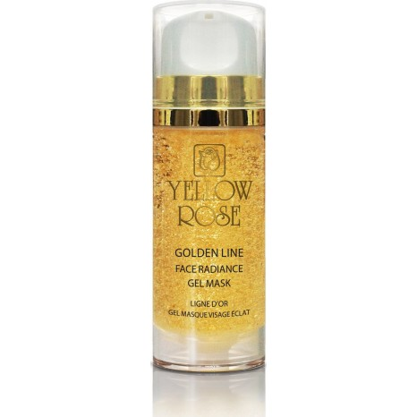 Yellow Rose Golden Line Face Radiance Gel Mask (100ml)