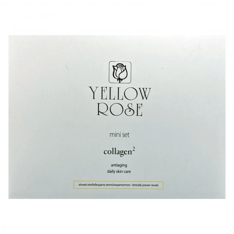 Yellow Rose Collagen2 Mini Set (Micellar Cleansing Water 100ml, Beauty Elixir 20ml & Face Cream 30ml)