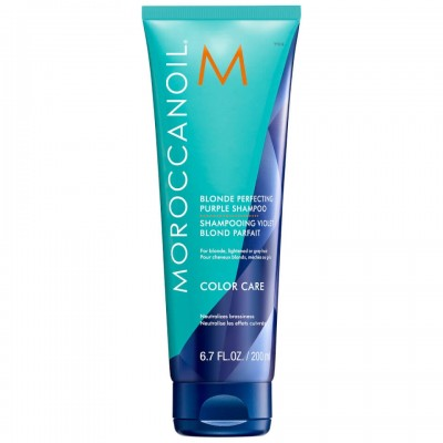 Moroccanoil Blonde Perfecting Purple Shampoo (200ml)