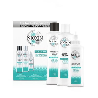 Nioxin Scalp Recovery Kit (Shampoo 200ml, Conditioner 200ml & Serum 100ml)