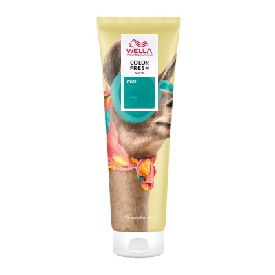 Wella Professionals Color Fresh Mask - Mint (150ml)
