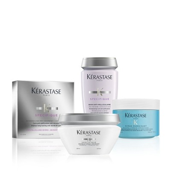 Kérastase Hair Spa at Home Bundle - Μέθοδος Περιποίησης κατά της Πιτυρίδας