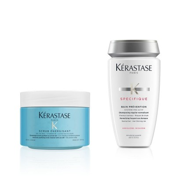 Kérastase Hair Spa at Home Bundle - Μέθοδος Περιποίησης κατά της Τριχόπτωσης
