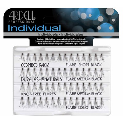 Ardell Βλεφαρίδες Individuals Combo Black