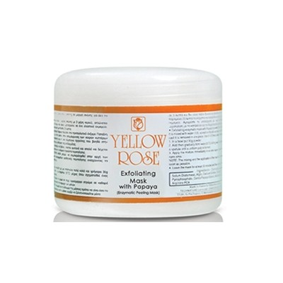 Yellow Rose Exfoliating Mask With Papaya (150gr)